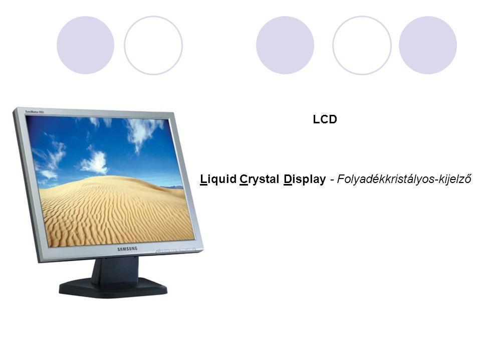 LCD Liquid Crystal Display-Folyadékkristályos-kijelző