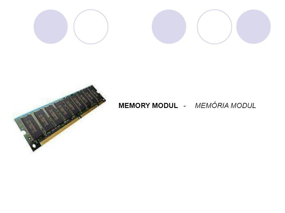 MEMÓRIA MODULMEMORY MODUL-