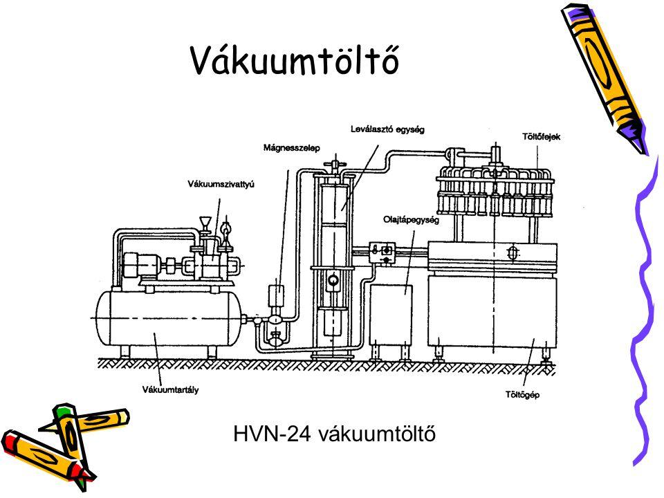 Vákuumtöltő HVN-24 vákuumtöltő