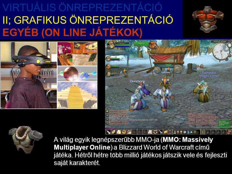 A világ egyik legnépszerűbb MMO-ja (MMO: Massively Multiplayer Online) a Blizzard World of Warcraft című játéka.