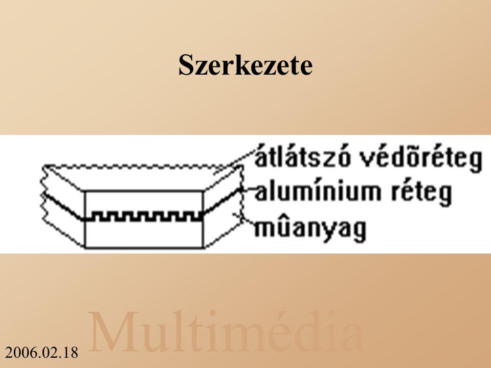 Multimédia 2006.02.18 Szerkezete