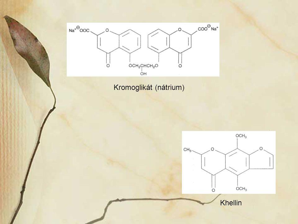 Kromoglikát (nátrium) Khellin