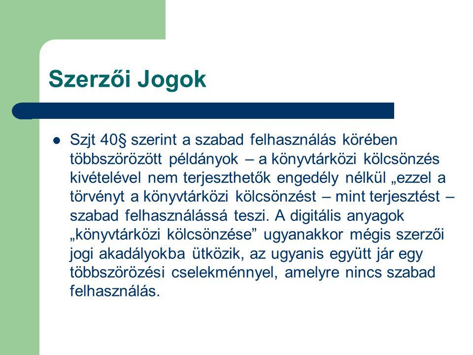 Elektronikus dokumentum továbbítás Külföldi dokumentum továbbítási rendszerek Subito www.subito.doc.com Ariel minden könyvtárban: küldés- fogadás Az Ariel Magyarországi gyakorlata Szent István Egyetem – Állatorv.tud.