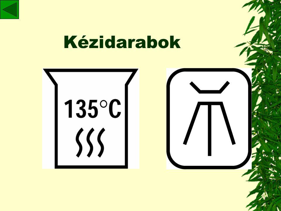 Útmutató kézi műszerek: – hőstabil: sterilizálandó –nem hőstabil: hideg sterilizálás, fertőtlenítés Kézidarabok: –gyártó utasításai szerint lehetőleg