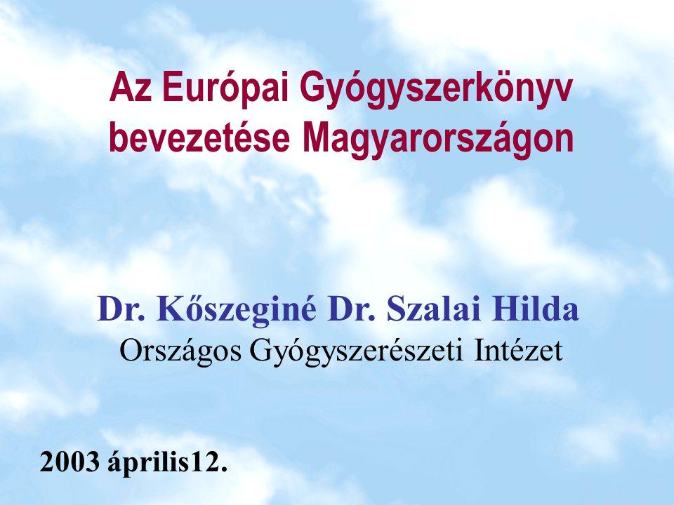 """Az Európai Gyógyszerkönyv gyógyszertechnológiai vonatkozásai Készítmények gyógyszerforma-cikkelyek (Szabványos Elnevezések) gyógyszertechnológiai vizsgálatok egyes készítménycsopor- tok(pl.steril készítmények) előállítása csomagolóanyagok vizsgálata (anyagok és tartályok) Gyógyszeranyagok a polimorfia kezelése """"előkészített (tömörített, granulált, hígítottstb.)ható- anyagok felvétele a segédanyagcikkelyek (egyedi cikkelyek: keretcikkelyek, cikkelycsaládok) a segédanyag szerepével összefüggő vizsgálatok"""