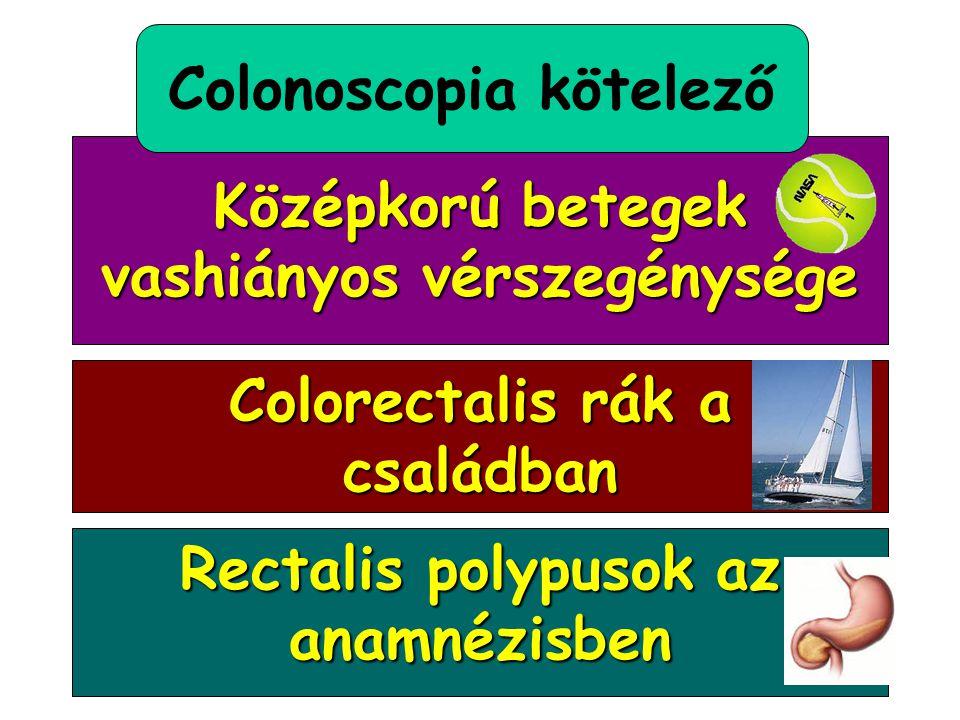 Tanulság? A vastagbél polypusok rendszeres colonoscopos ellenőrzésre szorulnak!