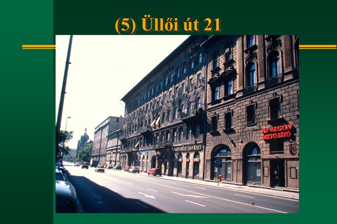 (5) Üllői út 21