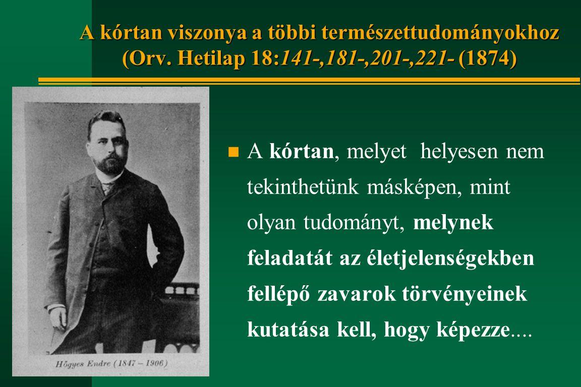 Emlékirat a Pasteur-intézet tárgyában, részlet (1900 márc.