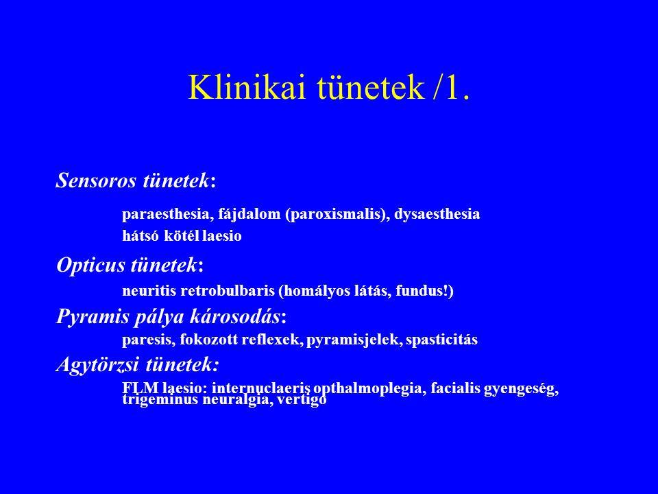 Klinikai tünetek /1.