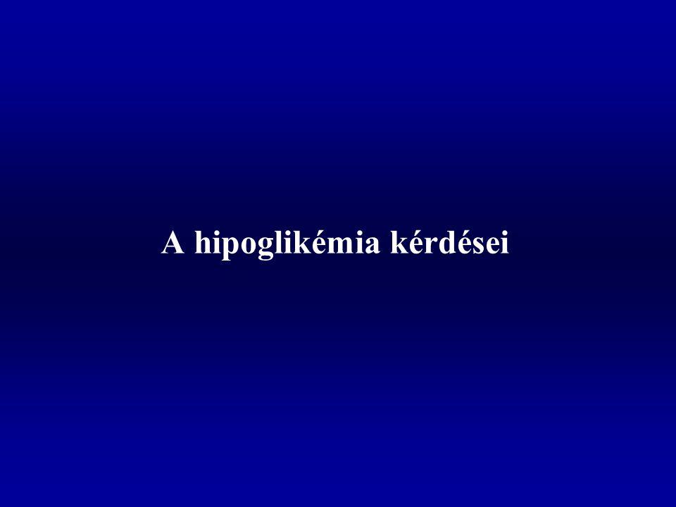 A hipoglikémia kérdései