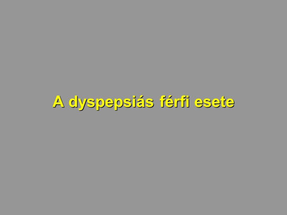 A dyspepsiás férfi esete