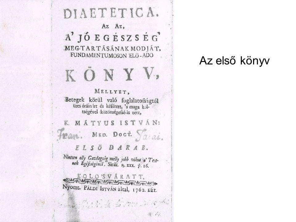 Az első könyv