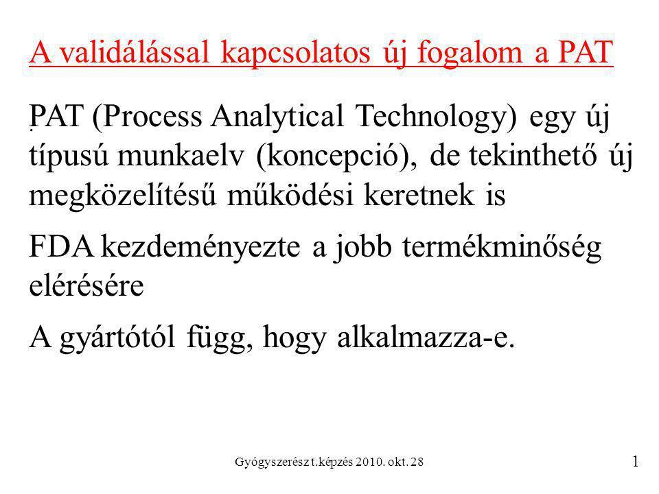 Gyógyszerész t.képzés 2010. okt. 28.