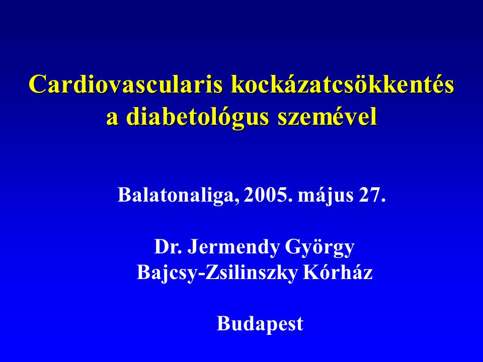 Effects of intensive blood glucose control on progression of nephropathy Wang L.
