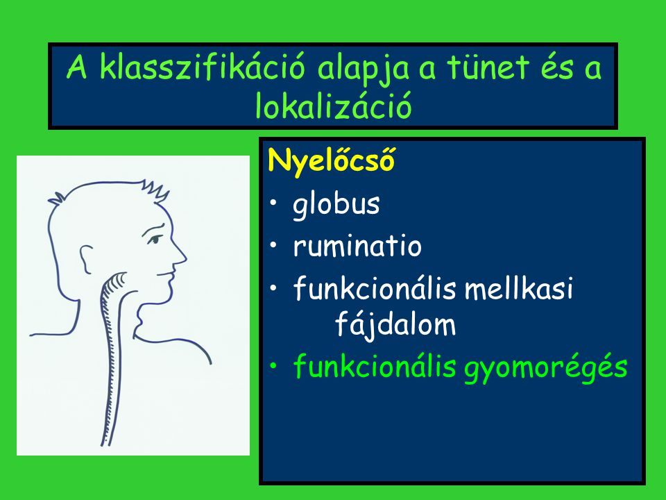 Társuló betegségek Lumbalgia, hátfájás Migraine Dyspareunia, dysuria Hörgő hyperreaktivitás Pszichiátriai kórképek Dyspepsia Fáradtság