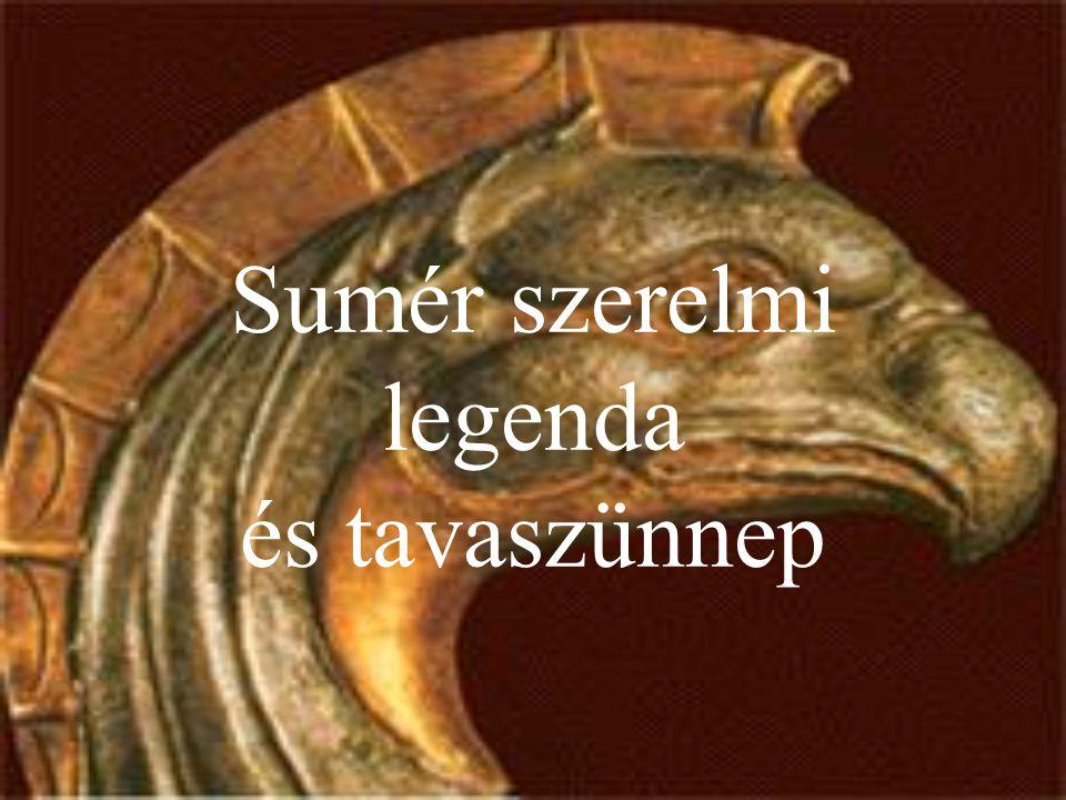 Sumér szerelmi legenda és tavaszünnep