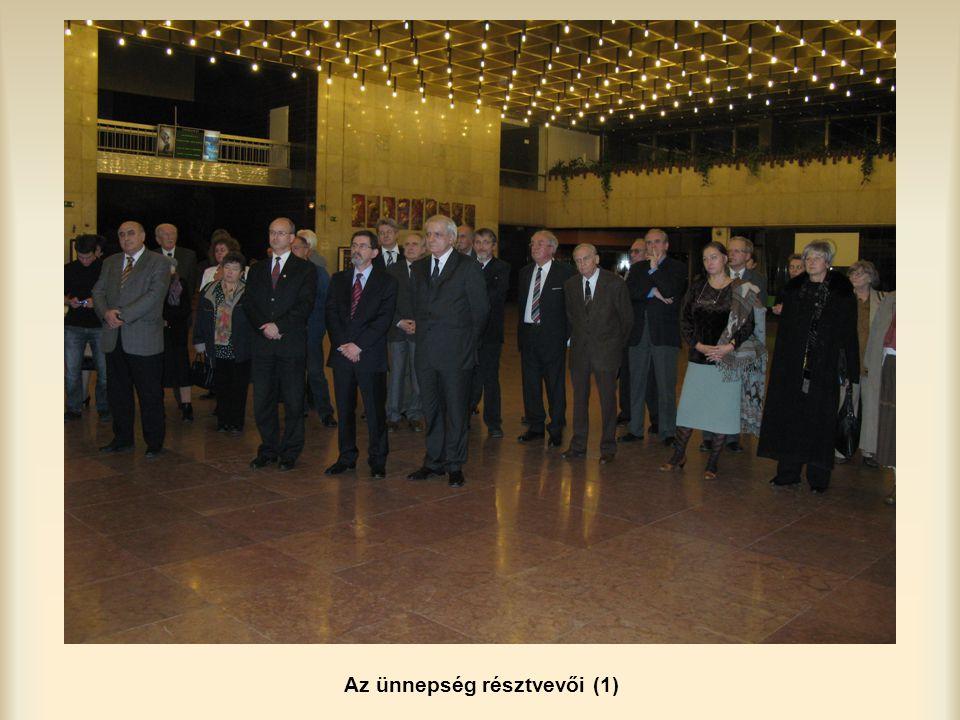 Az ünnepség résztvevői (1)