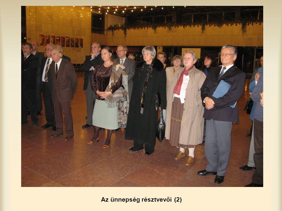 Az ünnepség résztvevői (2)