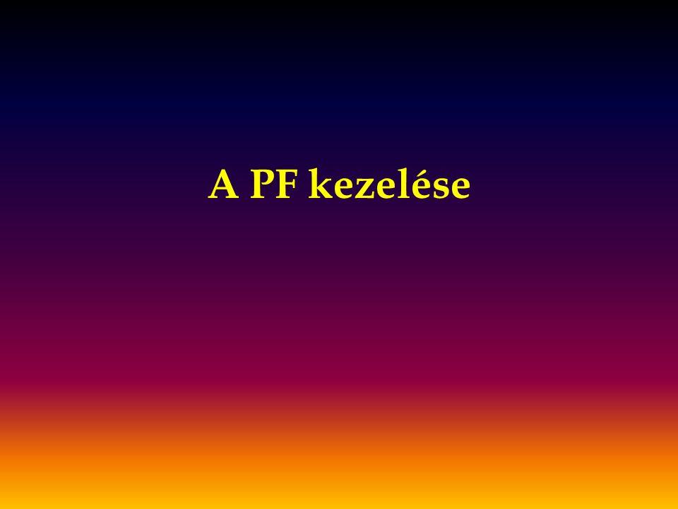 A PF kezelése