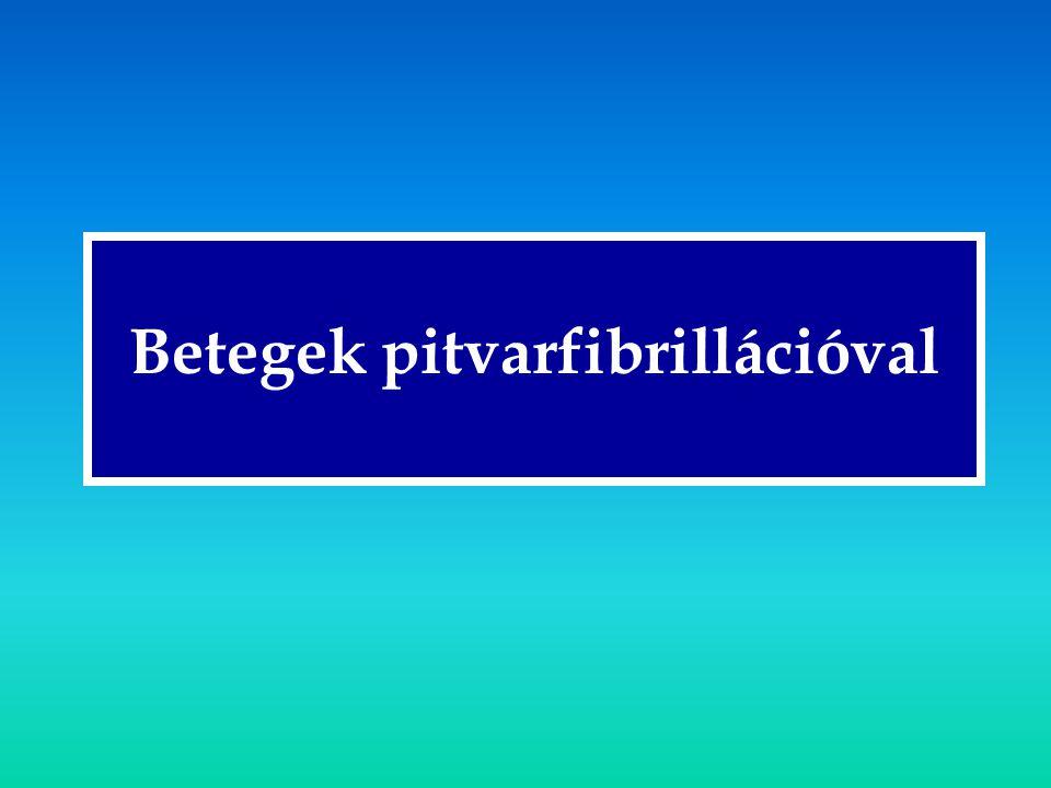 Betegek pitvarfibrillációval