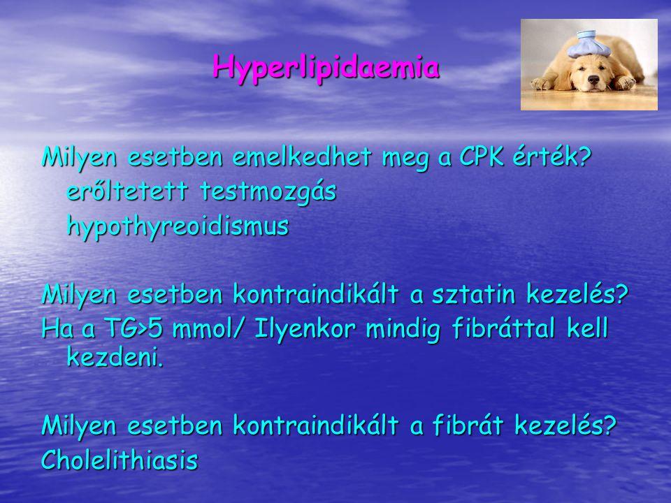 Mi okozhat hypocholesterinaemiát.