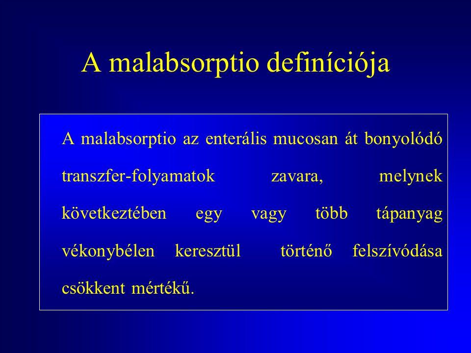 Malabsorptio. Coeliakia Dr. Juhász Márk SE ÁOK II.sz. Belgyógyászati Klinika
