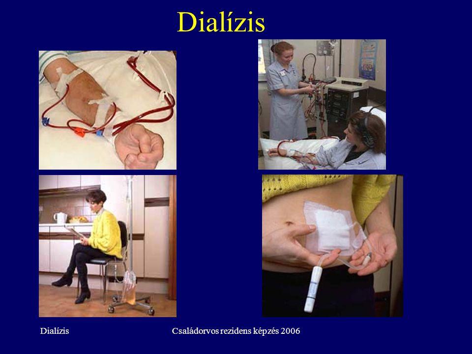 DialízisCsaládorvos rezidens képzés 2006 Dialízis