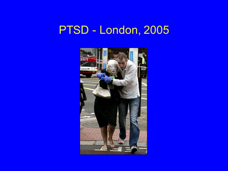 PTSD - London, 2005