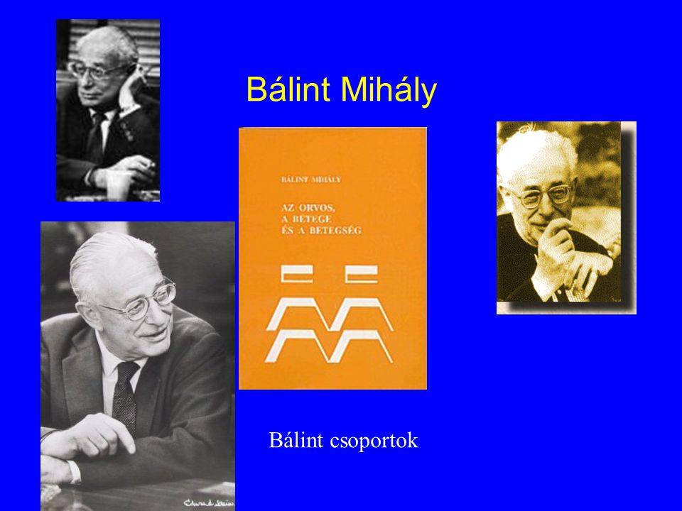 Bálint Mihály Bálint csoportok