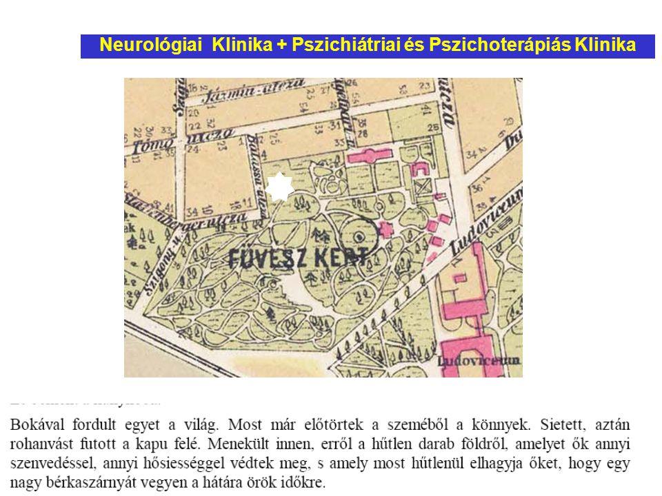Neurológiai Klinika + Pszichiátriai és Pszichoterápiás Klinika