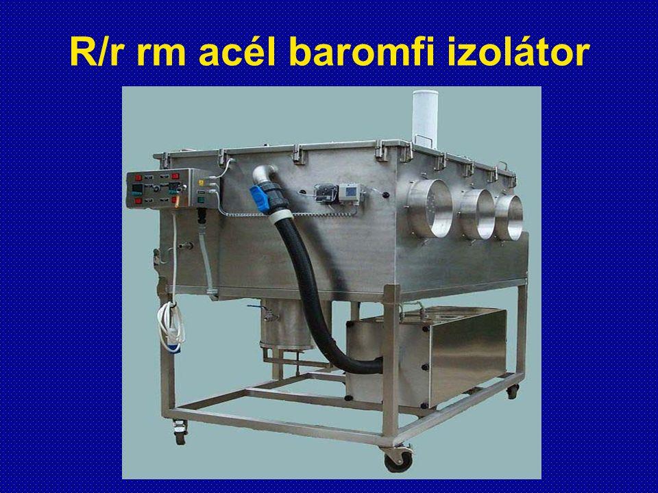 R/r rm acél baromfi izolátor