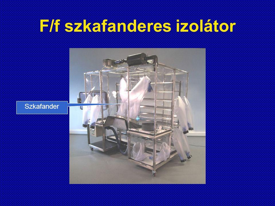 F/f szkafanderes izolátor Szkafander