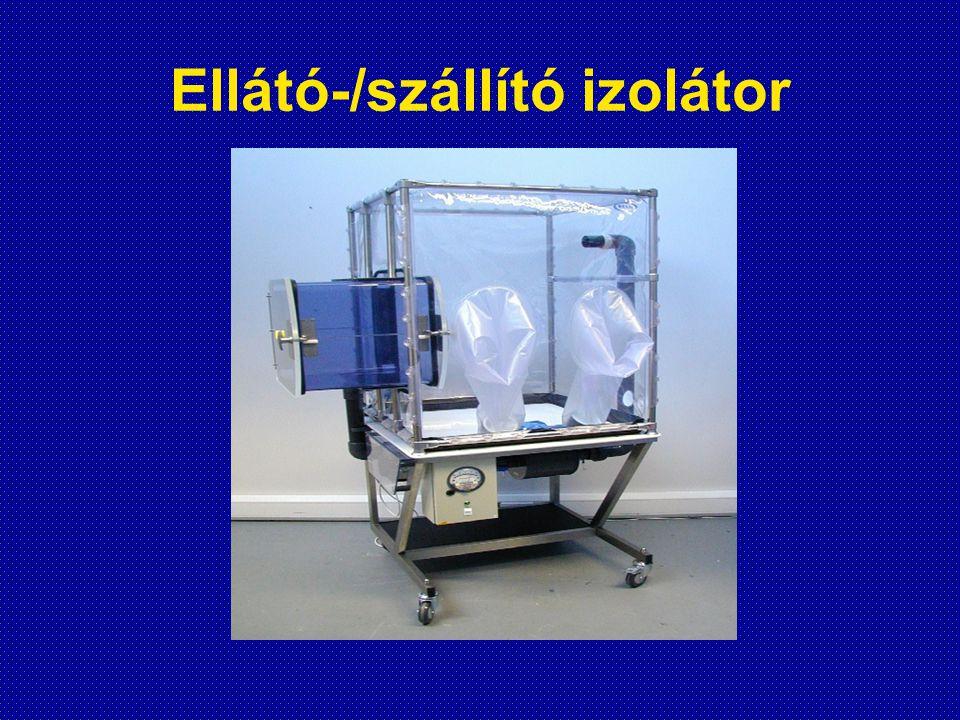 Ellátó-/szállító izolátor