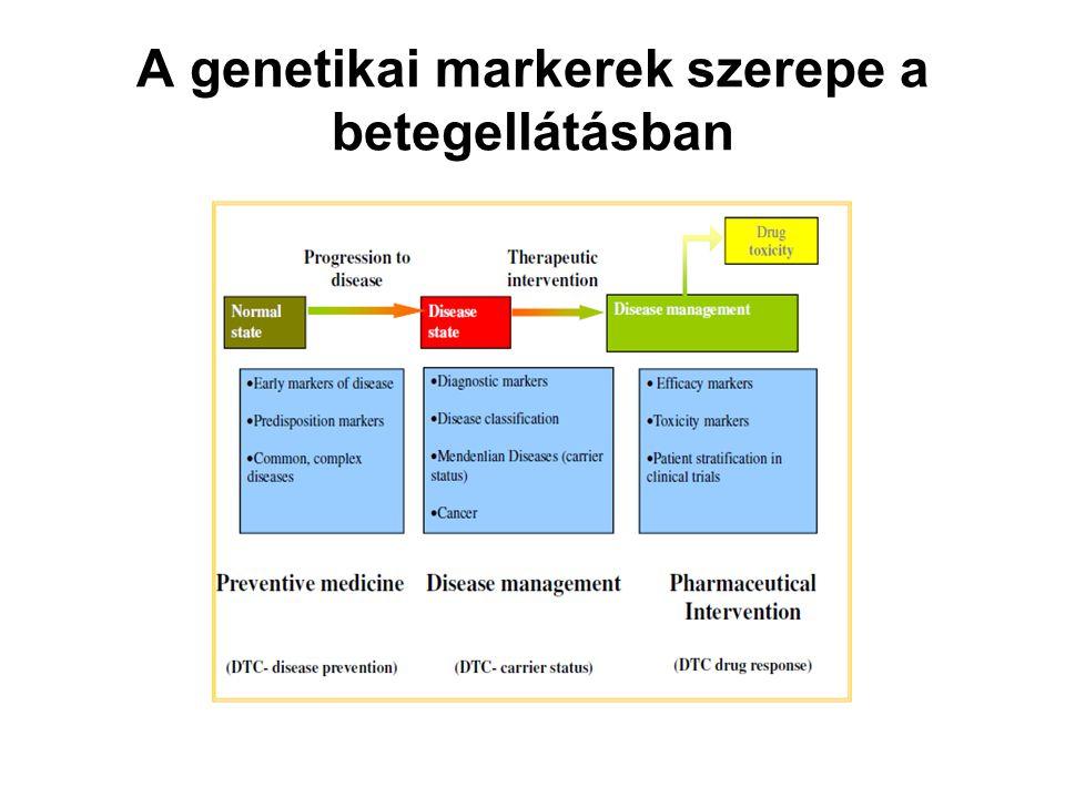 A genetikai markerek szerepe a betegellátásban