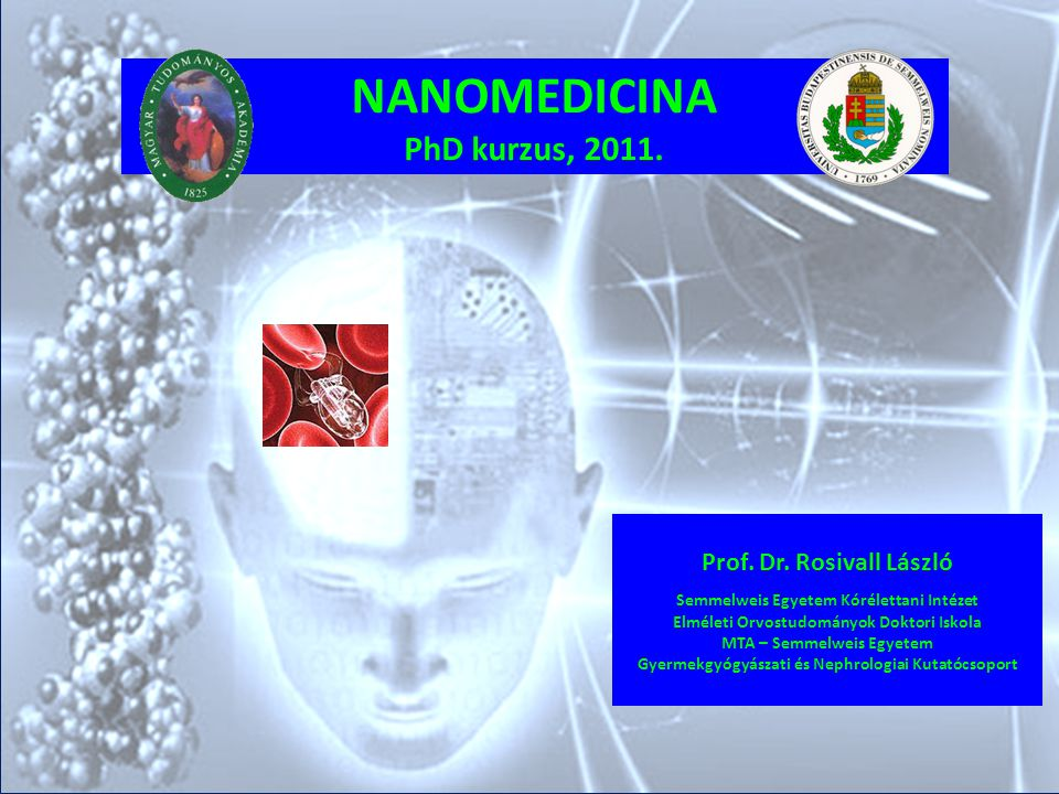 A hálózat céljai: 1.Különböző nanotudományi területek integrálása; együttműködés.