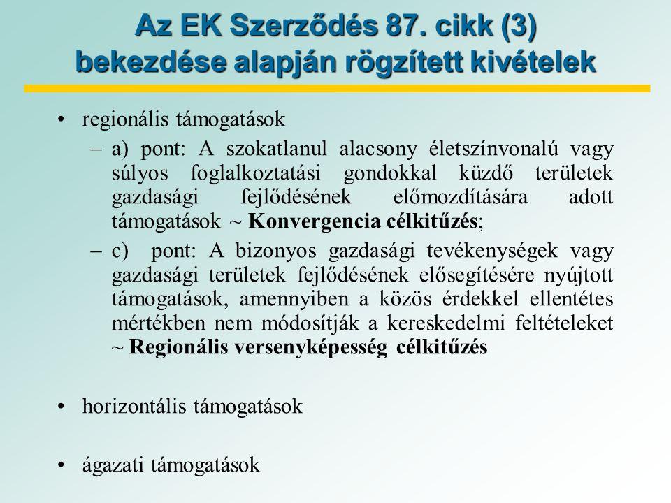 Az EK Szerződés 87.