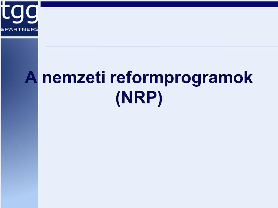 A nemzeti reformprogramok (NRP)