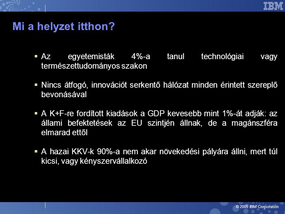 © 2005 IBM Corporation Mit tesznek a multik Magyarországon.