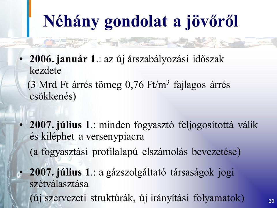 20 Néhány gondolat a jövőről 2006.