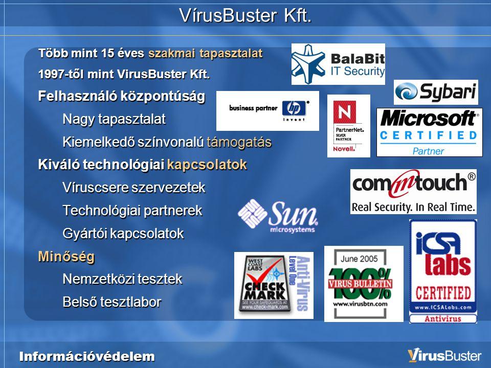 Információvédelem VírusBuster Kft.