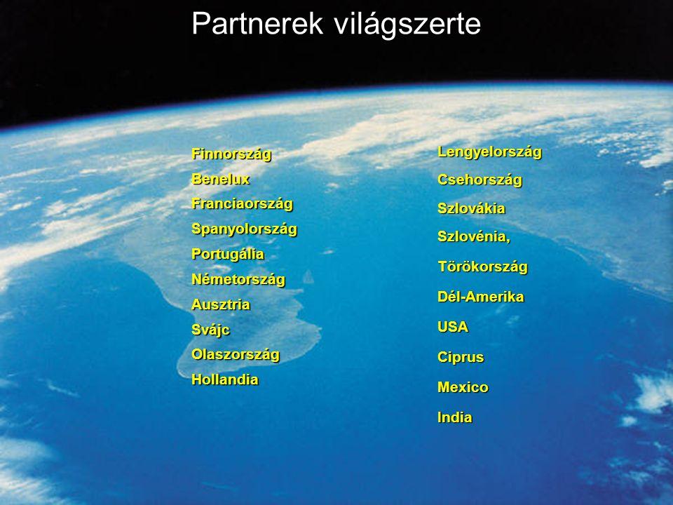 Információvédelem Partnerek világszerte FinnországBeneluxFranciaországSpanyolországPortugáliaNémetországAusztriaSvájcOlaszországHollandia LengyelországCsehországSzlovákiaSzlovénia,TörökországDél-AmerikaUSACiprusMexicoIndia