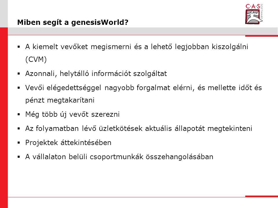 Miben segít a genesisWorld.