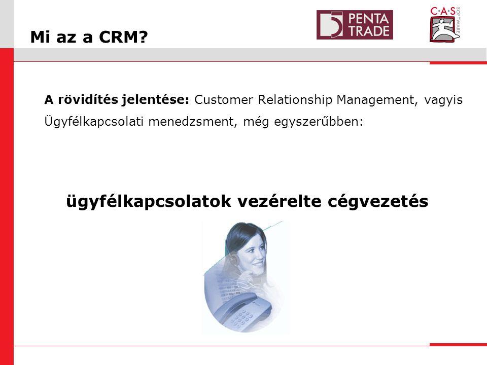 Mi az a CRM.