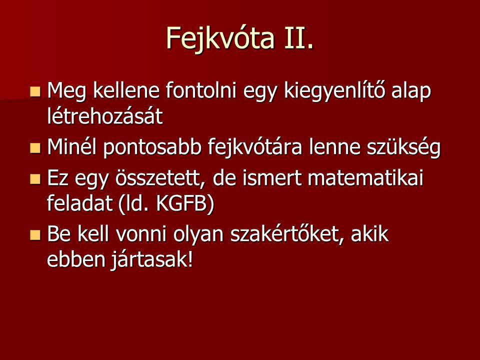 Fejkvóta II.