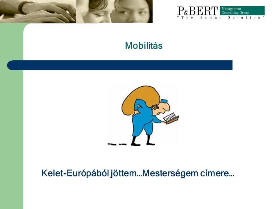 Mobilitás Kelet-Európából jöttem…Mesterségem címere…