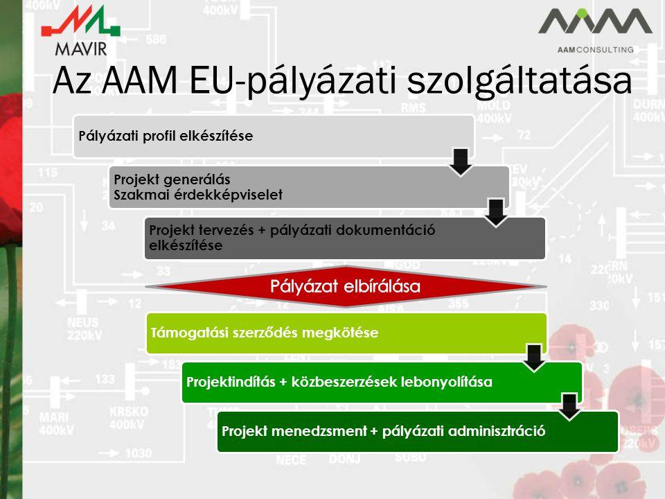 Az AAM EU-pályázati szolgáltatása