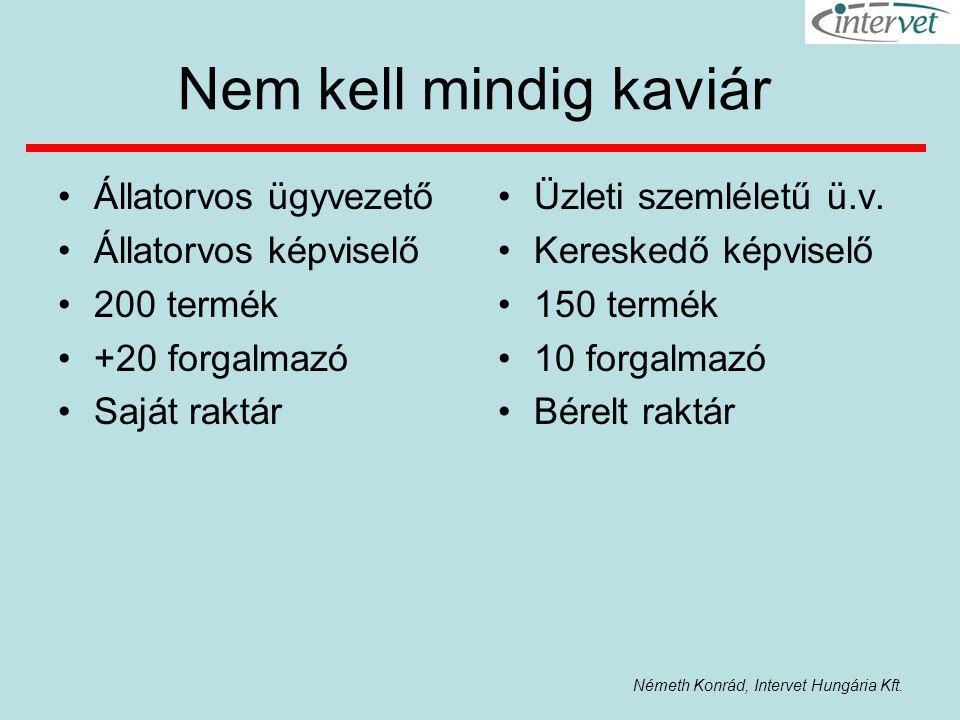 Németh Konrád, Intervet Hungária Kft.