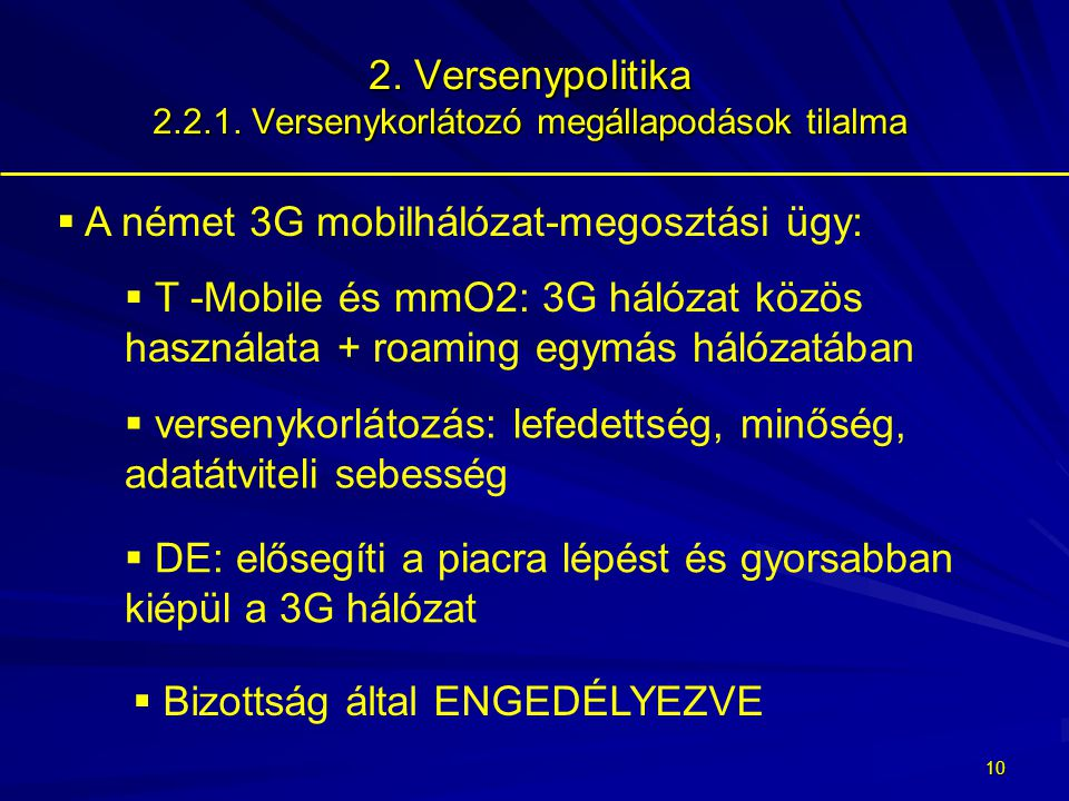 9 2.Versenypolitika 2.2.1.