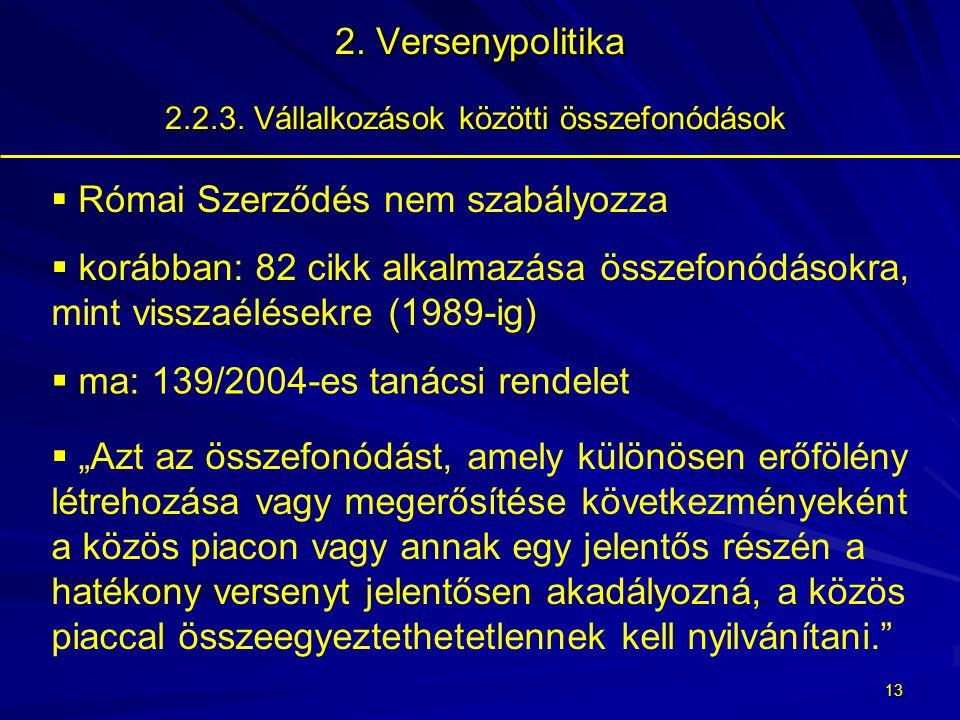 12 2.Versenypolitika 2.2.2.