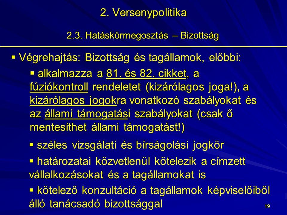 18 2.Versenypolitika 2.3.